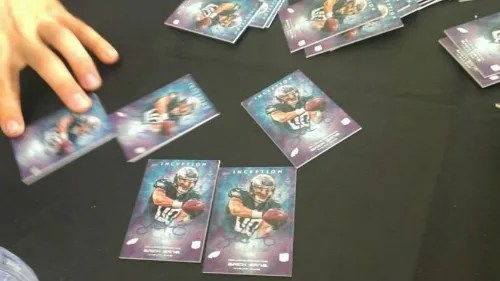 Topps Inception Football Behind the Scenes