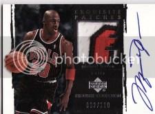 Michael Jordan Exquisite Patch Autograph