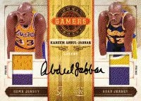 09/10 Panini Timeless Treasures Home Road Kareem Jersey