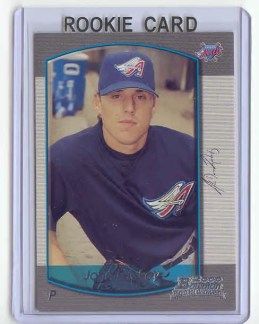 John Lackey 2000 Bowman Chrome Baseball RC Card