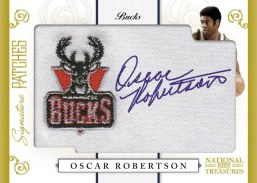 09/10 Panini National Treasures NBA Signature Patches