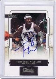 2009/10 Panini Classics Terrence Williams RC Auto