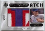 2009 Upper Deck Ultimate Collection Nolan Ryan Patch