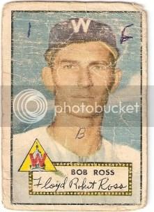 1952 Topps Bob Ross