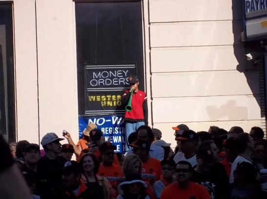 2010 San Francisco Giants World Series Parade Photos