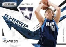Dirk Nowitzki 2009/10 Panini Basketball NBA Sharp Shooters Insert