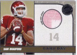 2010 Sam Bradford Game Used Jersey