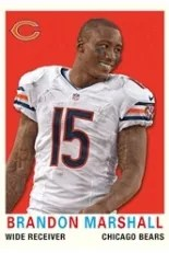 2013 Topps Brandon Marshall Mini
