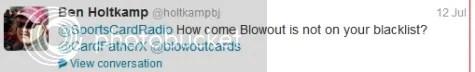 Blowout Cards Raffle Spots