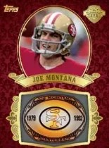 2013 Topps Joe Montana Ring