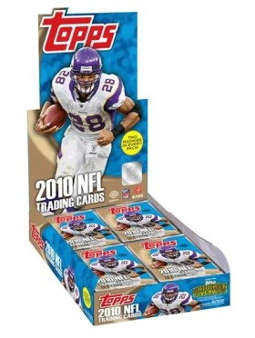 2010 Topps NFL Football Hobby Box