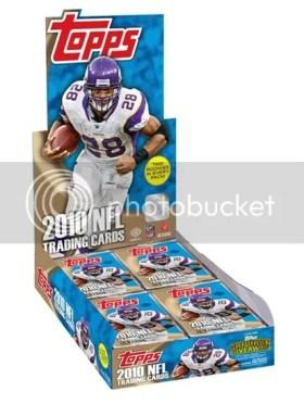 2010 Topps NFL Football Hobby Box