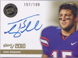 2010 Press Pass Tim Tebow Autograph RC