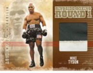 2010 Ringside Boxing Mike Tyson Memorabilia