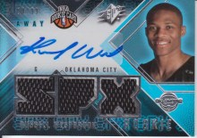 Russell Westbrook SPX Rookie Auto