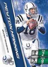 2010 Panini Adrenalyn XL Football peyton Manning