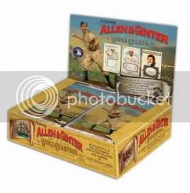 2010 Topps Allen & Ginter Baseball Hobby Box