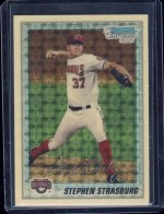 2010 Bowman Superfractor Stephen Strasburg 1/1