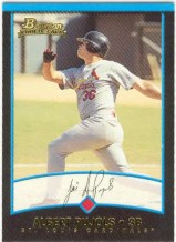 2001 Bowman Albert Pujols Rookie Card
