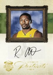 09/10 Panini Court Kings Portraits Ron Artest