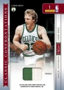 09/10 Panini Classics Magic Johnson Larry Bird Dual Prime