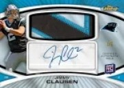 2010 Topps Finest Jimmy Clausen Jumbo Patch Auto RC