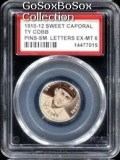 1910-12 Sweet Caporal Ty Cobb Pins