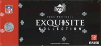 2006 Upper Deck UD Exquisite Football Box