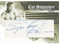 2010 Ringside Boxing Sugar Ray Robinson Cut Signature Auto