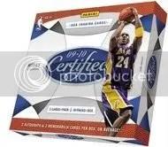 09/10 Panini Certified Basketball Box
