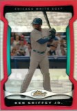 2009 Topps Finest Ken Griffey Jr. Red Refractor