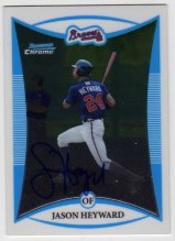 2008 Bowman Chrome Jason Heyward