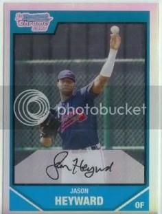 Jason Heyward Bowman Chrome RC