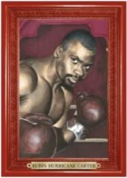2010 Ringside Boxing Round 1 Rubin Hurricane Carter Turkey Red