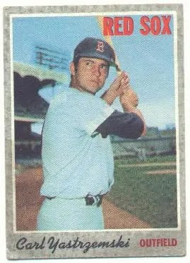Carl Yastrzemski 1970 Topps Base Card