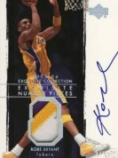 2003/04 Exquisite Kobe Bryant Number Piece /8