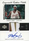 2003/04 LeBron James Exquisite Patch RC