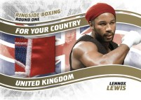 2010 Ringside Boxing Lennox Lewis For Your Country