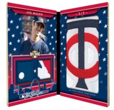 2010 Triple Threads Joe Mauer All-Star Patch
