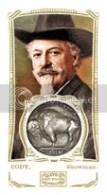 Buffalo Bill 2009 Topps Mayo Americana Relic Framed