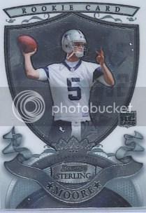2007 Bowman Sterling Matt Moore RC Card