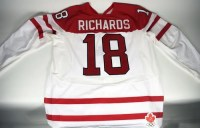 Mike Richards Olympic Game Worn Jersey