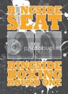 2010 Ringside Boxing Redemption Ticket Stub