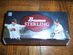2009 Bowman Sterling Baseball Mini Box