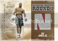 2010 Ringside Boxing Roy Jones Jr. Patch Memorabilia