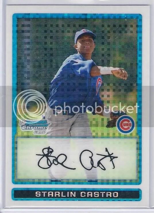 2008 Bowman Chrome Prospects #BCP257 Prospect Autographs Chaz Roe Auto Card