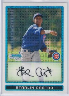 Starlin Castro 2009 Bowman Chrome RC