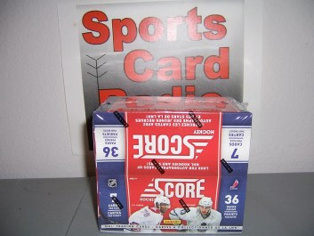 2010/11 Panini Score Hockey Box Break