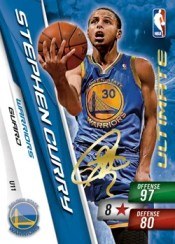2010/11 Adrenalyn NBA Series 2 Stephen Curry Ultimate