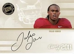 2011 Press Pass Julio Jones Autograph